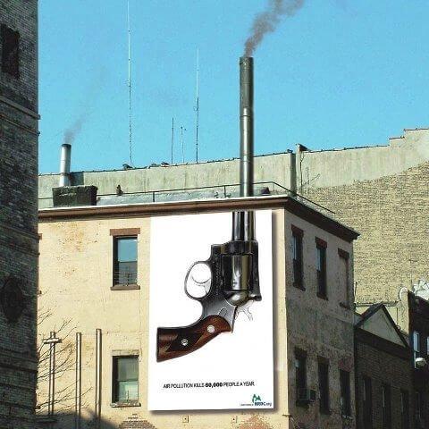 Iklan tentang polusi udara